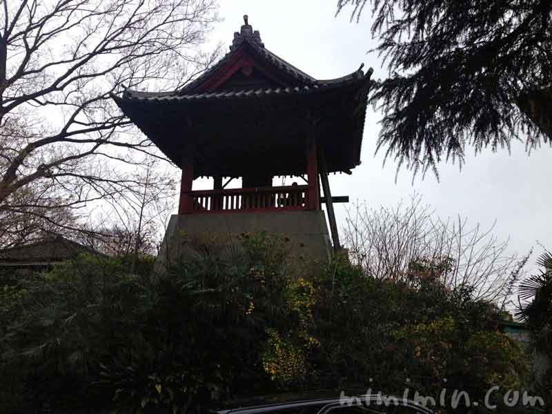 上野公園の時の鐘の写真