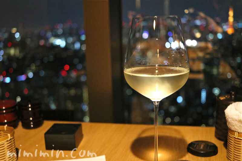 白ワイン・えびす坂 鳥幸の写真