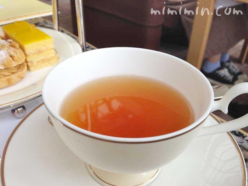 紅茶・パークハイアット東京のピークラウンジのアフタヌーンティーの画像