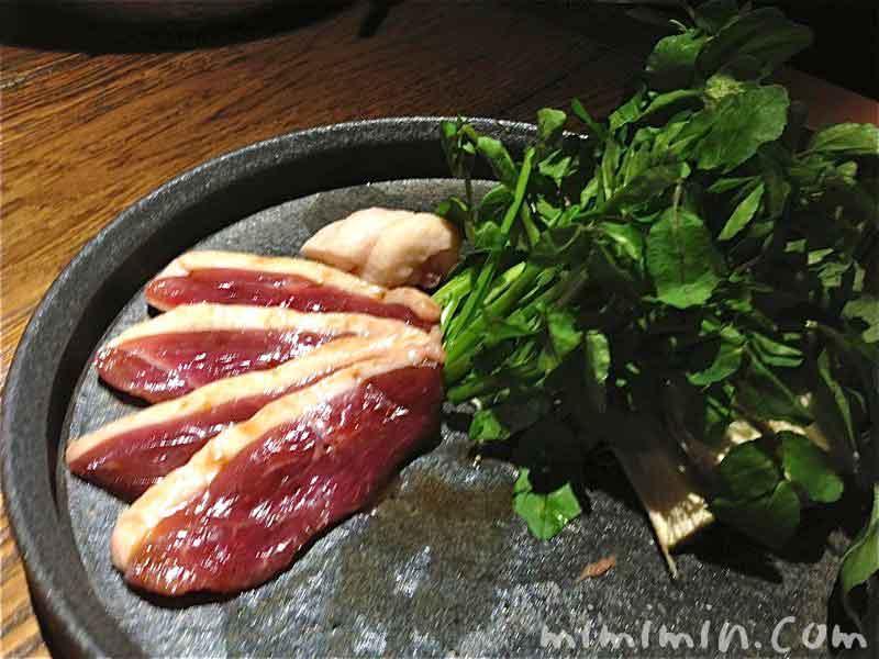 鴨すきコース(なかもぐろ)の写真