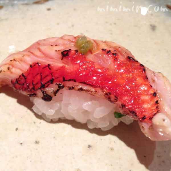 松栄の寿司のにぎり寿司