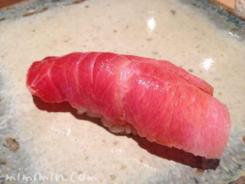 トロのにぎり寿司(松栄)の画像