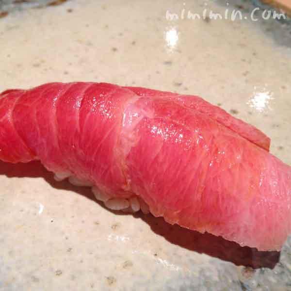 トロのにぎり寿司(松栄 恵比寿)の写真