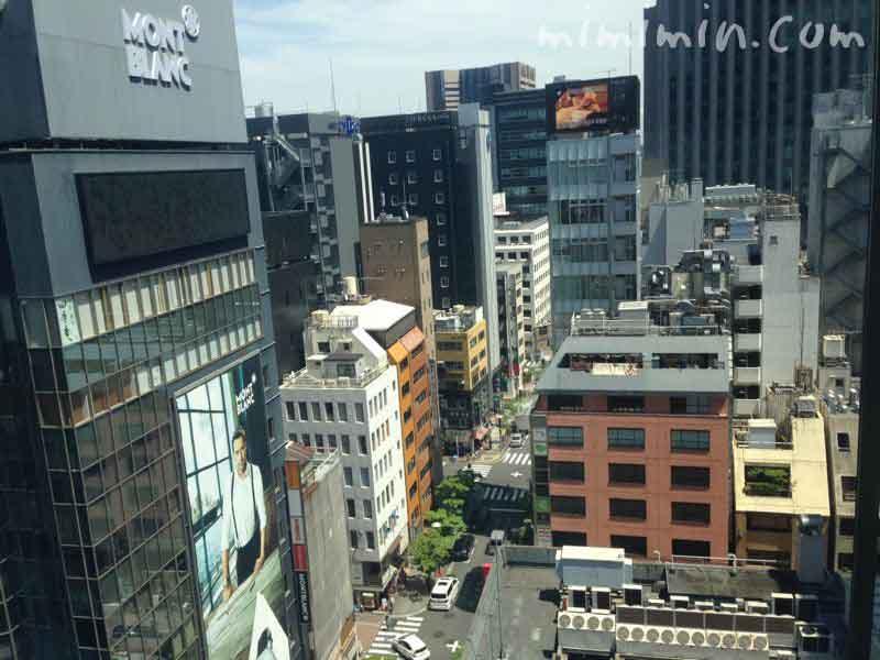 ファロ資生堂の窓からの景色の写真