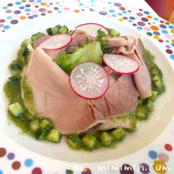 豚肉もも肉のサラダ仕立て の画像