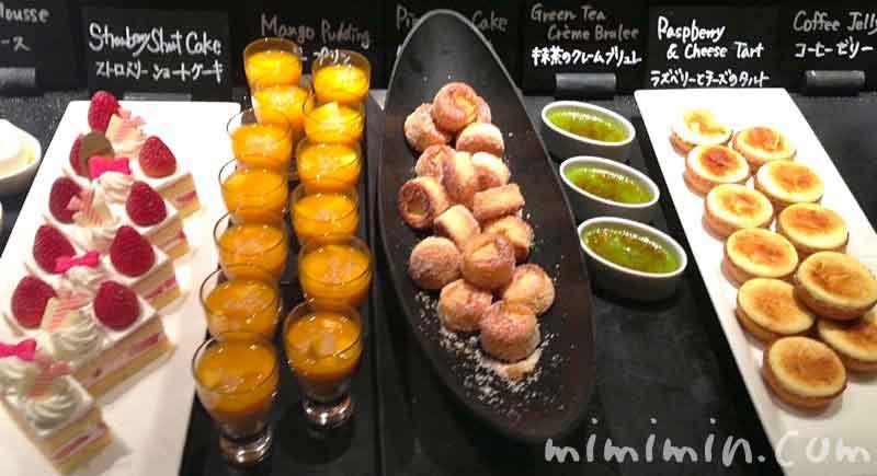 デザート|ウェスティンホテル東京のディナーブッフェの写真