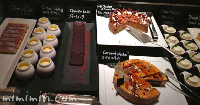デザート|ザ・テラス(ウェスティンホテル東京のディナーブッフェ)の画像