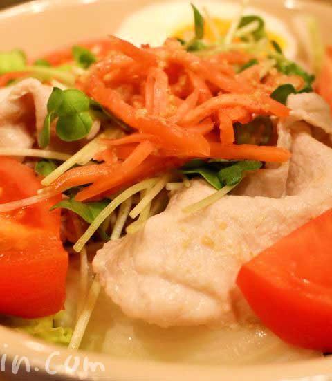 ゴマだれと麺つゆで簡単に作る「豚しゃぶ冷やし中華」のレシピ