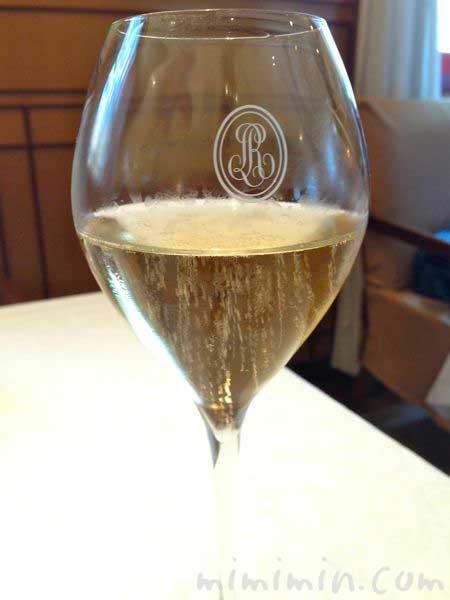 資生堂パーラーのシャンパン