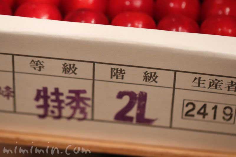 紅秀峰・さくらんぼの写真