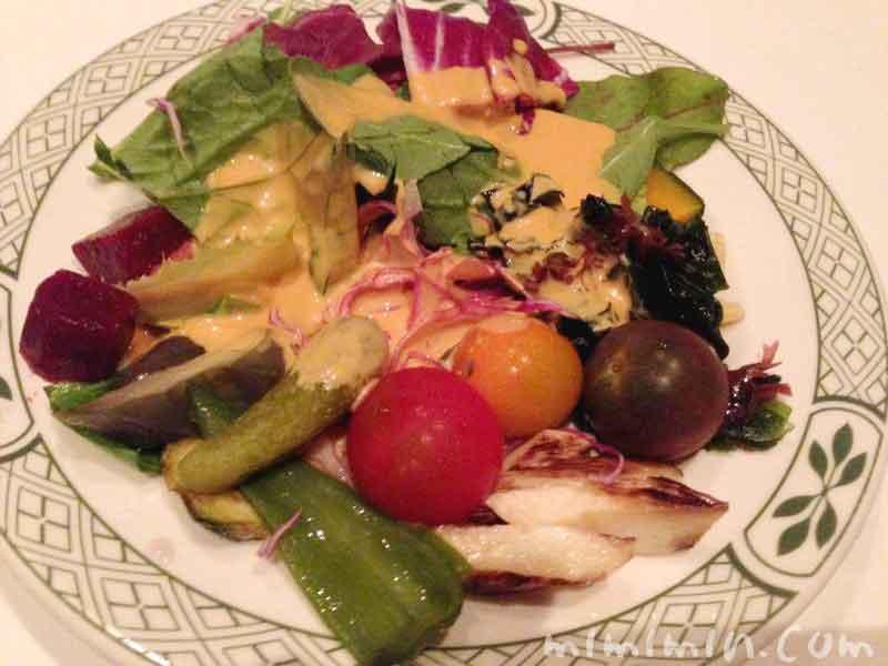 サラダ|ロウリーズ・ザ・プライムリブのランチ(恵比寿ガーデンプレイス店)の画像