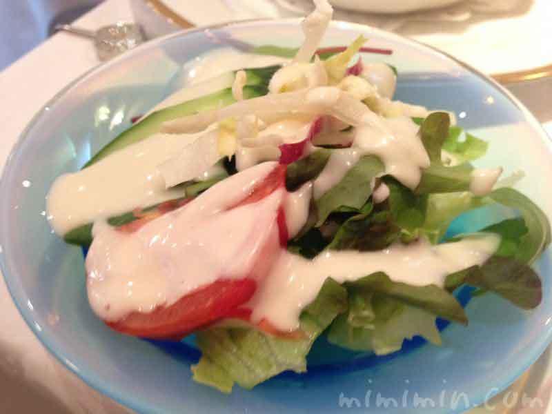 サラダ(資生堂パーラーのランチセット)の画像