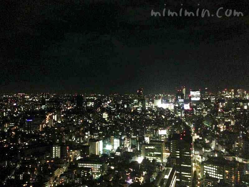 夜景(恵比寿ガーデンプレイス展望台)
