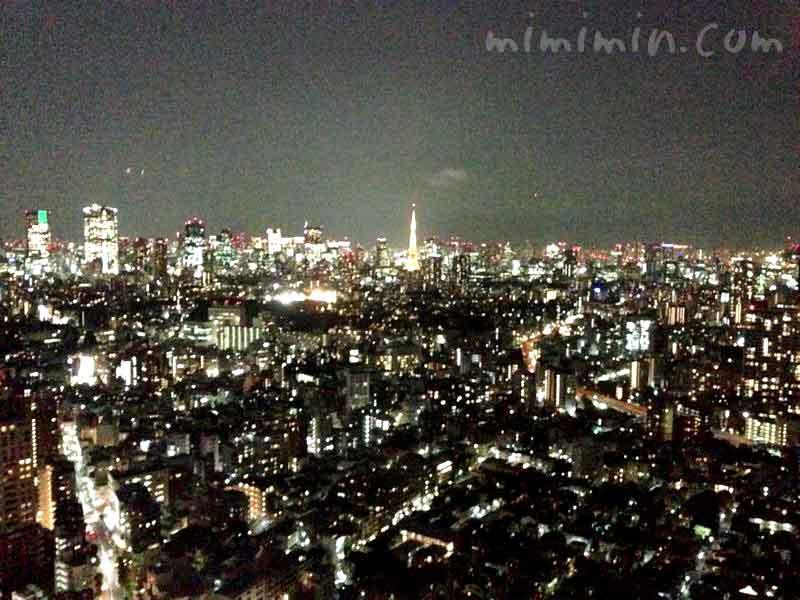 恵比寿ガーデンプレイスの展望台の夜景の画像