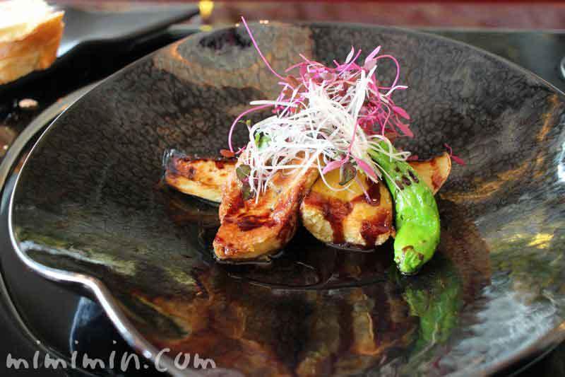 フォアグラと旬野菜のグリエ・うかい亭ランチの写真