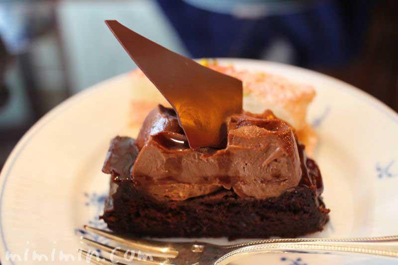 チョコケーキ・表参道うかい亭の写真