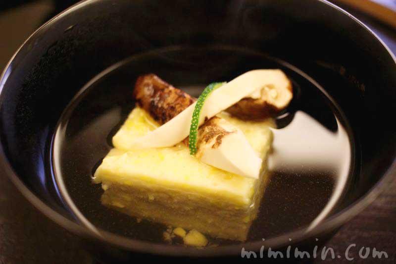 松茸の煮物椀・京しずく