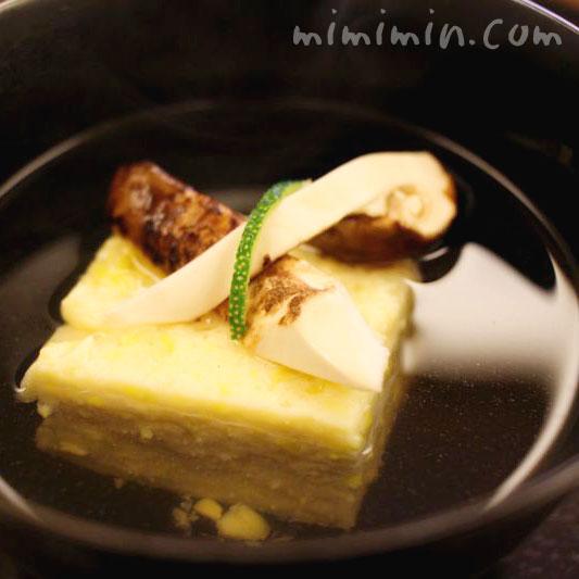 松茸の煮物椀・京しずく(恵比寿)