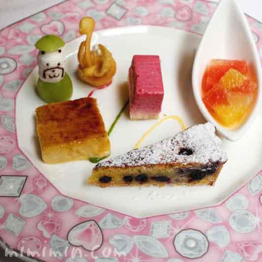モナリザ恵比寿店ランチのデザートの画像