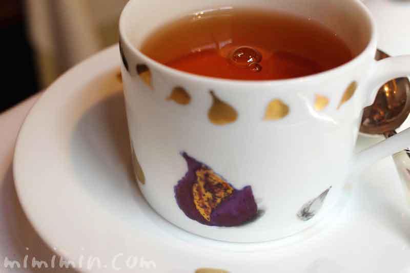 モナリザ恵比寿店フレンチの紅茶の写真
