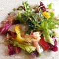 20種類以上の彩り野菜と本日鮮魚のカルパッチョ|リコスキッチン(恵比寿)の写真