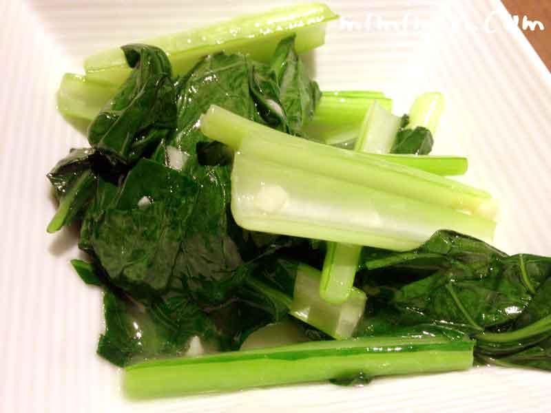 季節野菜の塩炒め・京鼎樓(ジンディンロウ)HANARE店 真珠コース