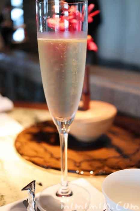 シャンパン|ヘイフンテラス ザ・ペニンシュラ東京の中華料理の画像