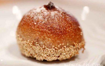 ジョエル・ロブションの栗が丸ごと入ったパンの画像