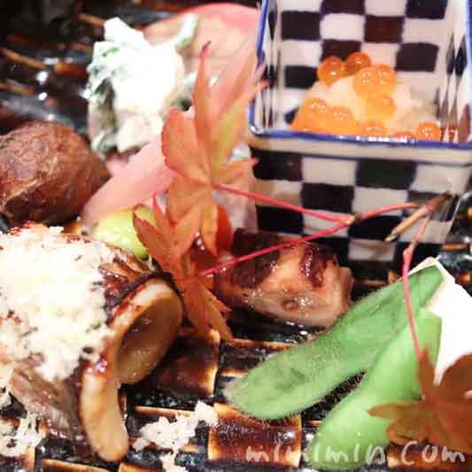 焼八寸|和の食 いがらし・恵比寿・雪のコースの写真