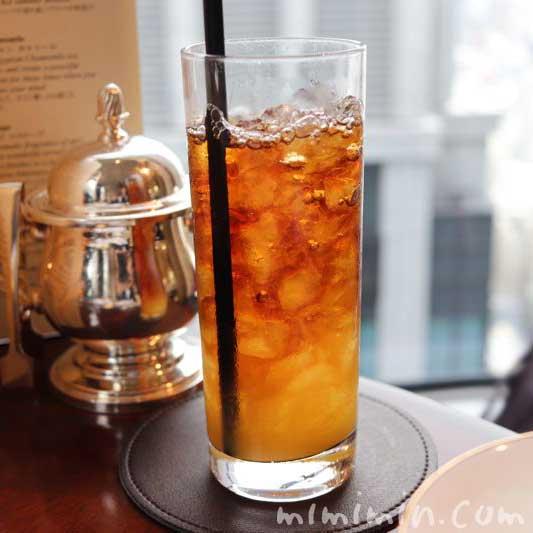 オレンジシロップ入り紅茶の画像