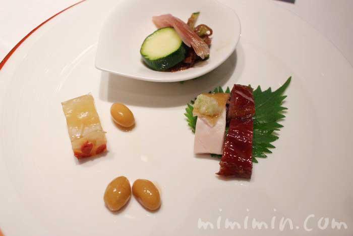 焼き物入り盛り合わせ|龍天門のランチ  琴棋詩酒(ウェスティンホテル東京)の画像