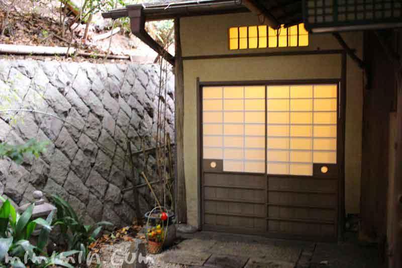 山の茶屋の入口(うなぎ料理)の画像