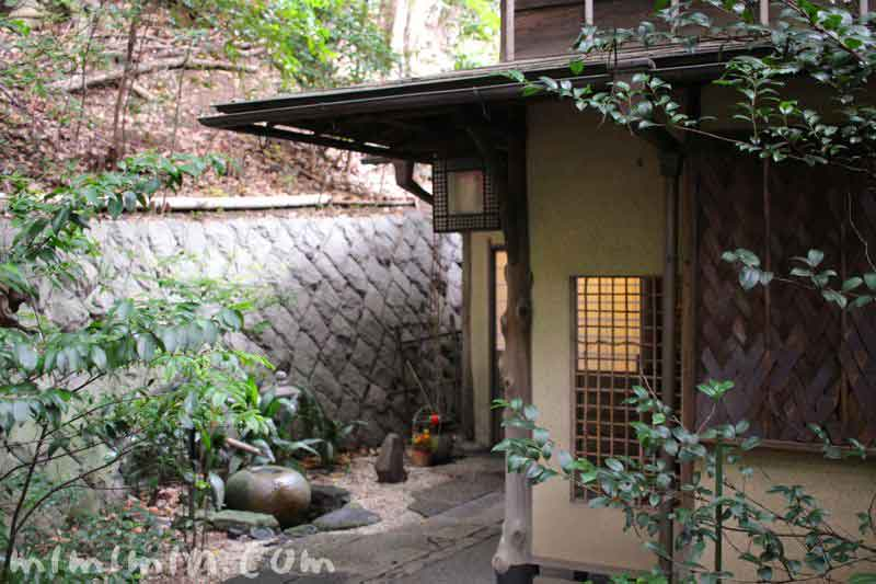 山の茶屋の入口(鰻懐石・赤坂)の写真