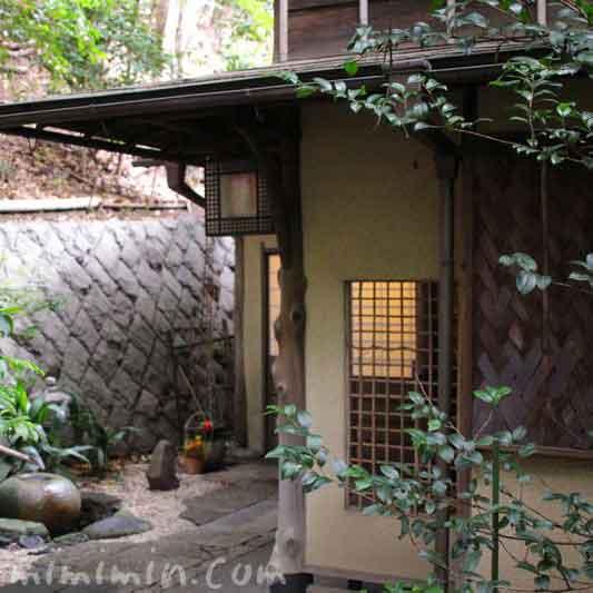 山の茶屋の入口(うなぎ料理・赤坂)の画像