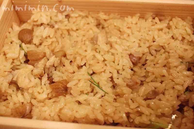 地鶏と栗の御飯|赤坂 菊乃井のランチ