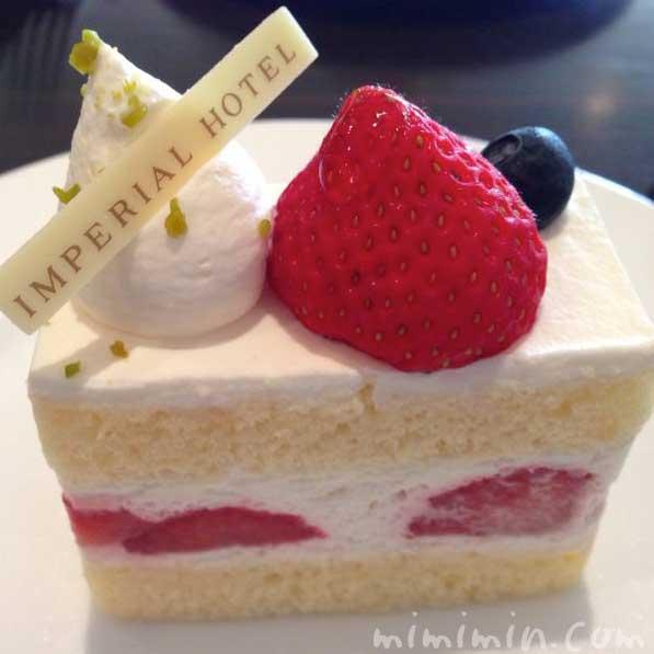 インペリアルラウンジ アクアのケーキセットの画像