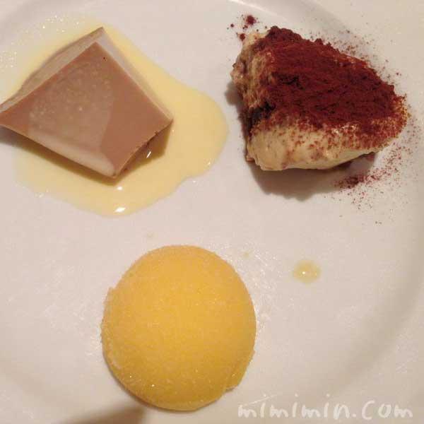 デザート|イル・バッフォーネのディナー|短角和牛コースの写真