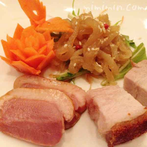 前菜三種盛合せ|真不同西麻布 真不同(チェンプートン)|広尾の中華の写真
