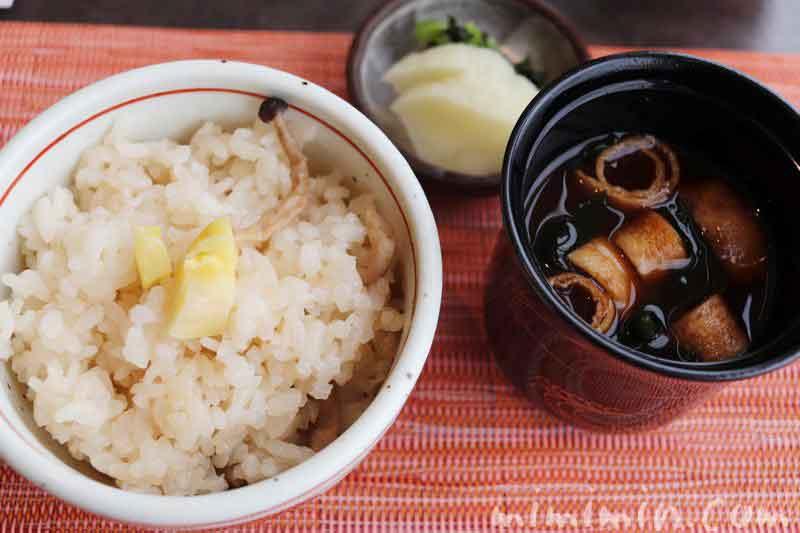 栗としめじのご飯|旬菜の画像