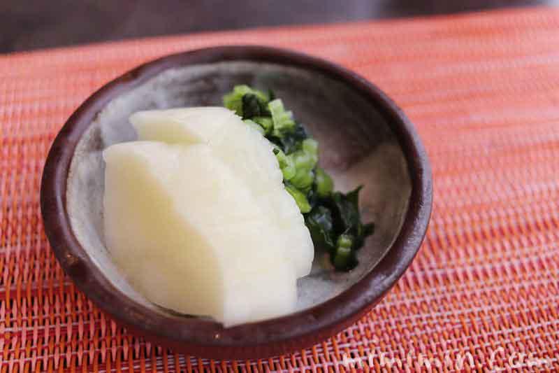 漬物|旬菜のランチの写真