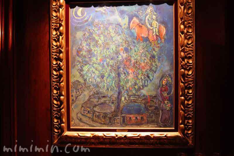 マルク・シャガールの絵(アピシウス)の写真