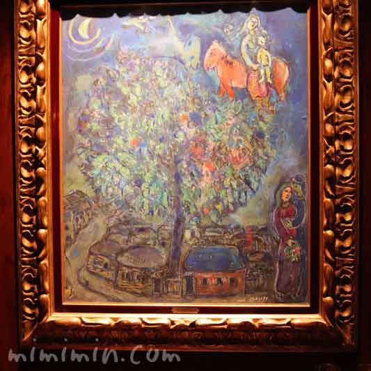 マルク・シャガールの絵画(アピシウス)