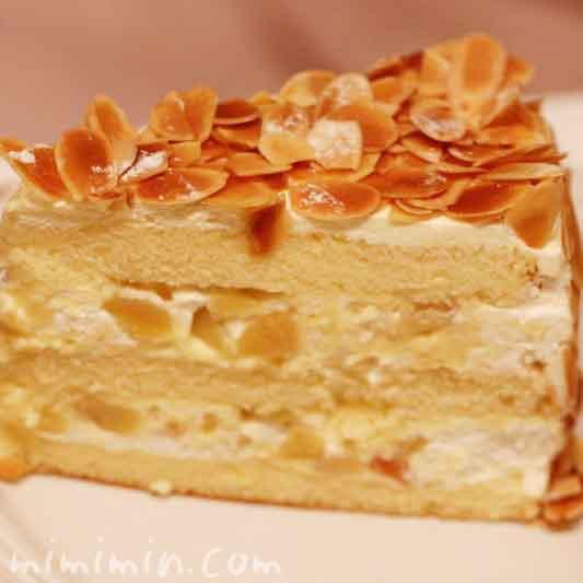 ハーブスのカスタードマロンケーキの画像