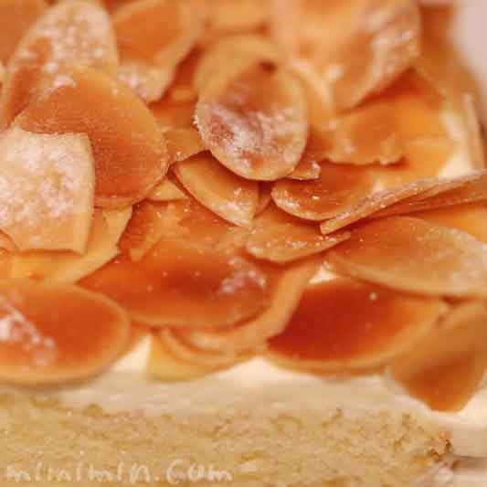 ハーブスのカスタードマロンケーキ(季節のケーキ)