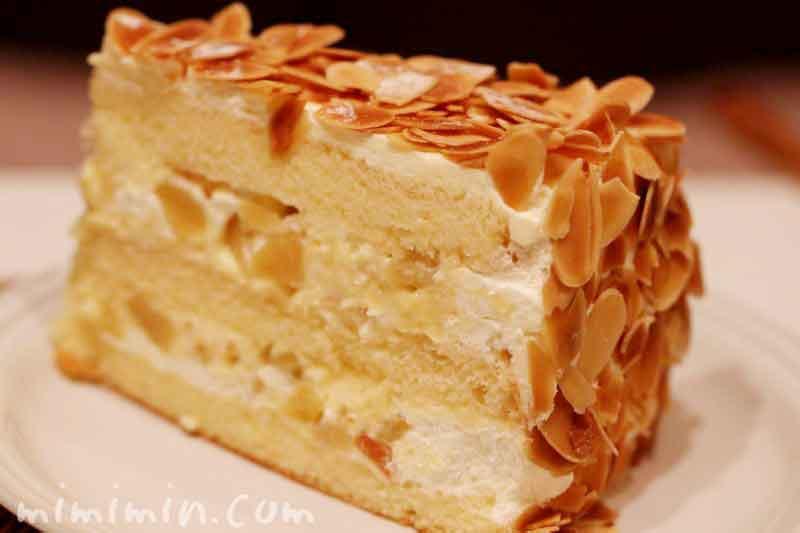 カスタードマロンケーキ(ハーブスのケーキ)の画像