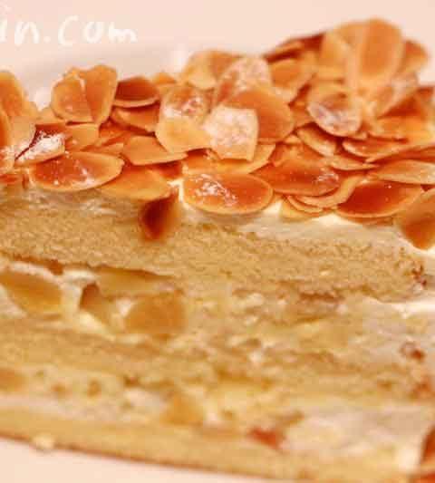 ハーブスのカスタードマロンケーキ