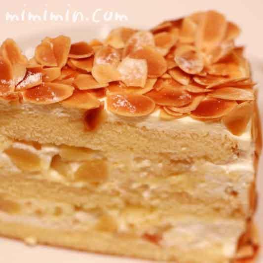 ハーブスのカスタードマロンケーキ(季節のケーキ)の画像