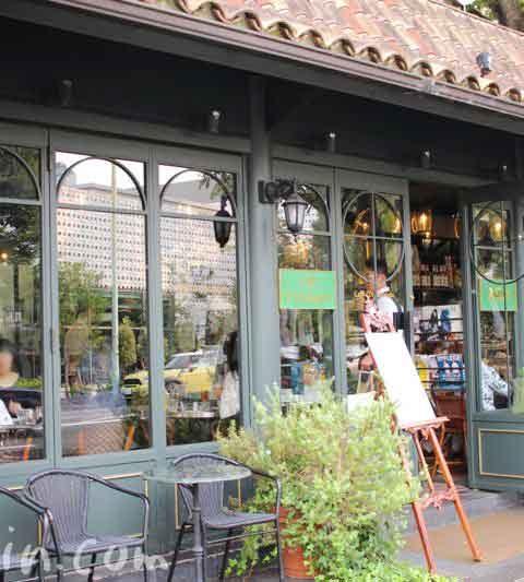 カフェ・ミケランジェロでランチ(代官山のカフェ)