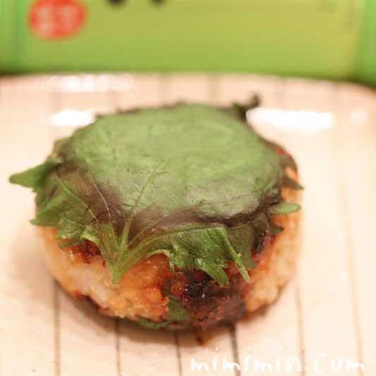 味噌焼きおにぎりのレシピの写真