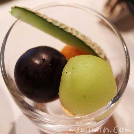 季節のフルーツ盛合わせ|サンデー点心アフタヌーンティー